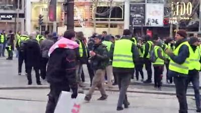 - Sarı Yelekliler yeniden sokakta - Paris'te 37 kişi gözaltına alındı
