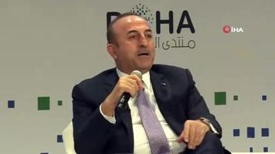 - Bakan Çavuşoğlu, Doha'da Gündemi Değerlendirdi