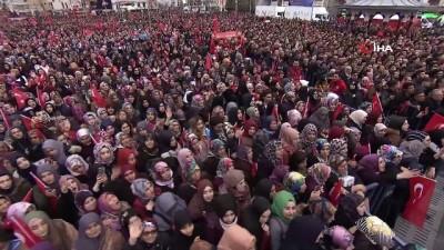 Cumhurbaşkanı Erdoğan, 'Bay Kemal sokağa çağırıyor. Bu ifadeleri kullanırken dikkatli kullan. Anında bedel ödersin'