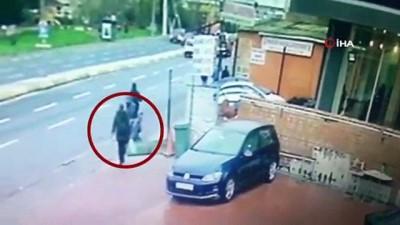 Holdingin bahçesine bomba yerleştiren teröristlerin görüntüleri ortaya çıktı