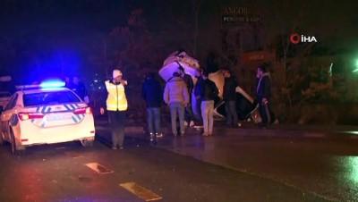 direksiyon -  Başkent'te 2 ayrı trafik kazasında 4 kişi yaralandı