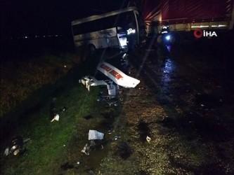 Çanakkale'de trafik kazası: 15 yaralı