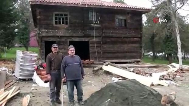 ormanli -  Çaycuma'da geleneksel köy evinin kurulumu tamamlandı