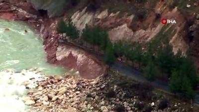 Dicle Barajı'nın kapaklarından biri kırıldı, sular altında kalan araç içerisindeki silahla kayboldu