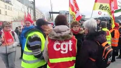 - Fransa'da Emeklilerden Protesto