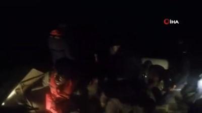 İzmir Dikili'de 87 göçmen yakalandı