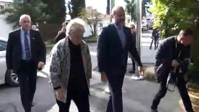 KKTC Cumhurbaşkanı Akıncı, BM Kıbrıs Özel Temsilcisi Lute ile görüştü - LEFKOŞA