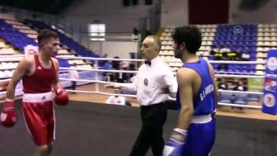boksor - Büyük Erkekler Türkiye Ferdi Boks Şampiyonası - BALIKESİR
