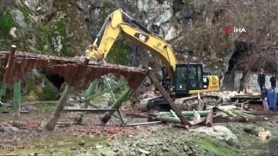 Ceyhan Nehri'nin kaynağı yeniden hayat buldu