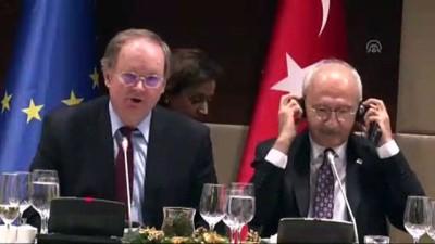 CHP Genel Başkanı Kılıçdaroğlu AB ülkeleri büyükelçileriyle buluştu - ANKARA