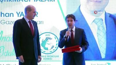 """İhlas Medya Ankara Temsilcisi Batuhan Yaşar """"Yılın Araştırmacı - Yazarı"""" ödülü İzle"""