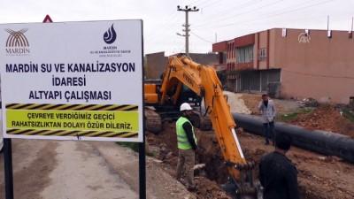 Kızıltepe'nin 48 yıllık su şebekesi yenileniyor - MARDİN