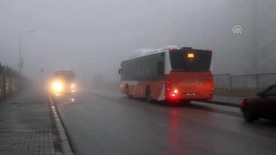 Ulaşıma sis engeli - GAZİANTEP İzle