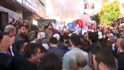 - AK Parti Belediye Başkanı Adayı Yarka'ya Şırnak'ta Coşkulu Karşılama