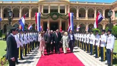 Cumhurbaşkanı Erdoğan, gurbetçilerle Paraguay'da sohbet etti - ASUNCION