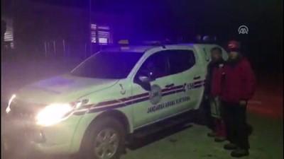 helikopter - Demirkazık Dağı'nda bir dağcı çığ altında kaldı (1) - NİĞDE