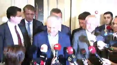 bulduk -  Görüşme sonrası Binali Yıldırım ve Kemal Kılıçdaroğlu'ndan açıklama