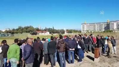 Mahallenin kullanım alanının otel tarafından işgal edildiği iddiası - ANTALYA