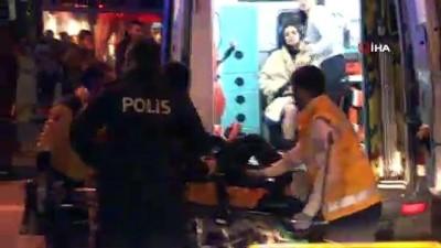 silahli kavga -  Nişantaşı'nda gece kulübü önünde silahlı kavga; 1 yaralı