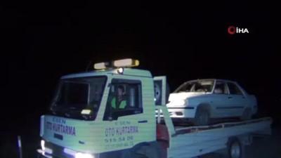 Otomobil yolun karşısına geçmeye çalışan kadın tarım işçisine çarptı: 1 ölü