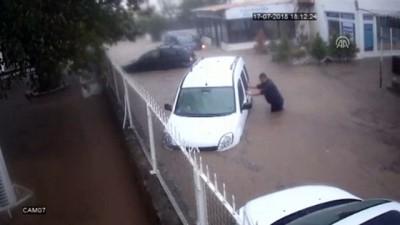 Otomobili selden kurtarma çabası - MUĞLA