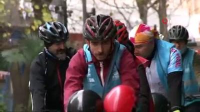 bisiklet -  Yüzlerce bisikletli, engelliler için Avrupa'dan Asya'ya geçti