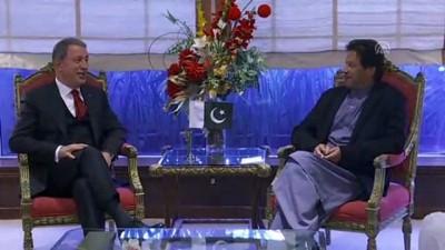 Milli Savunma Bakanı Akar, Pakistan'da - İSLAMABAD