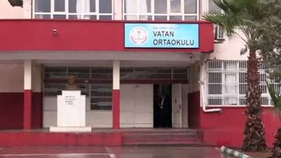Okulun istinat duvarı çöktü - ŞANLIURFA