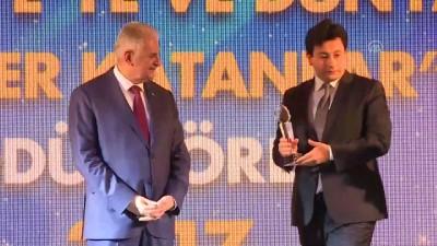 TBMM Başkanı Yıldırım, Turcovision Ödül Töreni'ne katıldı (1) - İSTANBUL