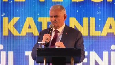 TBMM Başkanı Yıldırım: 'Türkiye büyük bir ülke, güçlü ekonomisi var' - İSTANBUL