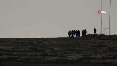 suriye - Teröristler toplantı halindeyken görüntülendi