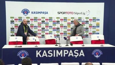 Kasımpaşa - Beşiktaş maçının ardından - Mustafa Denizli - İSTANBUL