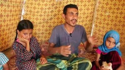 Yemenli baba kansere yakalanan kızını tedavi ettirememenin çaresizliğini yaşıyor (2) - MARİB