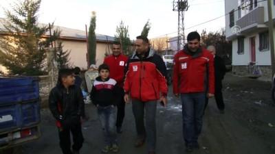 Türk Kızılayından Siirtli aileye konteyner desteği - SİİRT