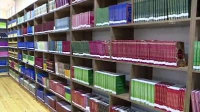 anit mezar - Azerbaycan'da Nuri Paşa Kütüphanesi açıldı - GENCE