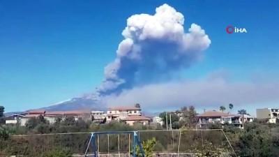 - İtalya'da Etna Yanardağı Yeniden Faaliyete Geçti - Uçak Seferleri Kısıtlandı