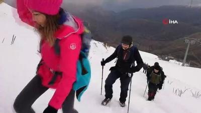 - Karlar altında 2 bin 157 rakımlı Bozdağ'a tırmanıp şehitlerimizi andılar