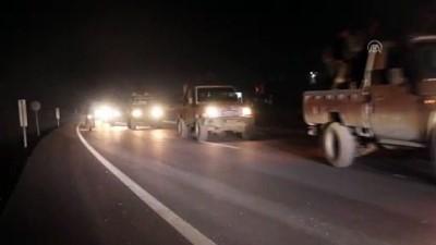 Suriyeli muhalifler Münbiç'teki cephe hatlarına gidiyor - BAB