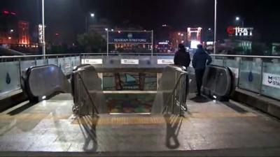 Yenikapı - Hacıosman Metro hattındaki arıza giderildi