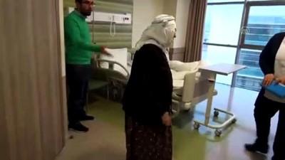 90 yaşındaki felçli Güllü nine sağlığına kavuştu - KAYSERİ