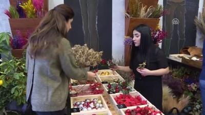 Çiçekçi dükkanını eğitim atölyesine çevirdi - ANKARA