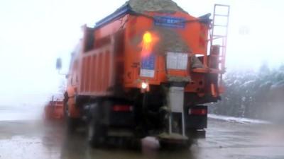 Kar yağışı etkili oluyor - YALOVA