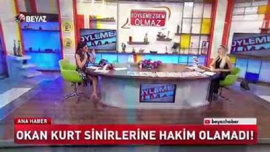 Okan Kurt Beyaz Tv muhabirine saldırdı