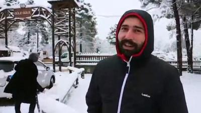 Doğu Marmara'da kar yağışı - KOCAELİ