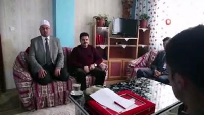 - Şehit Özkur'un eşyaları ailesine teslim edildi