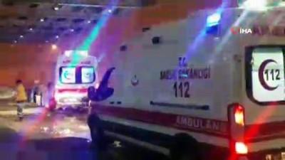 mide ameliyati -  Yolda rahatsızlanan şahsın imdadına kar paletli ambulans yetişti