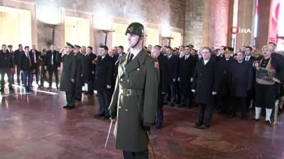 uygarlik -  Atatürk'ün Ankara'ya ilk kez gelişinin 99. yıl dönümü etkinlikleri Anıtkabir'de başladı