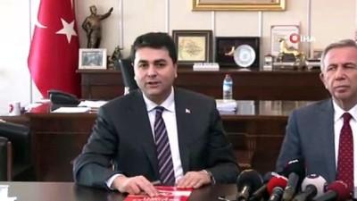 iran secimleri -  CHP Ankara adayı Mansur Yavaş'tan Demokrat Parti'ye ziyaret
