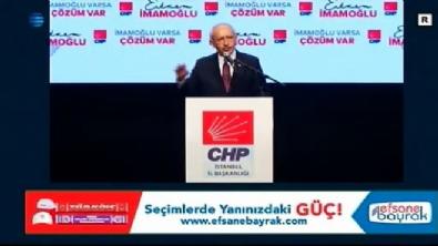 CHP'nin aday toplantısında dikkat çeken görüntü