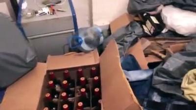alkollu icki -  - Kayseri polisinden 1 milyon TL'lik kaçak içki operasyonu